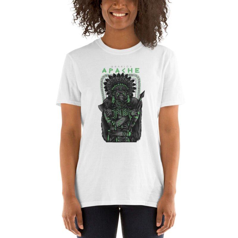Apache Warrior Short-Sleeve Unisex T-Shirt 3