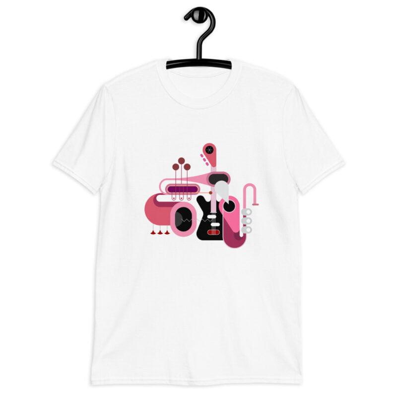 Abstract Music Art Short-Sleeve Unisex T-Shirt 5