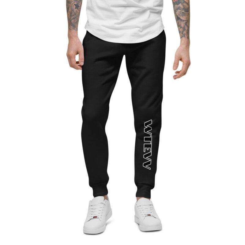 Wtevv Unisex fleece sweatpants 1