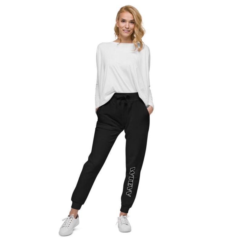 Wtevv Unisex fleece sweatpants 4