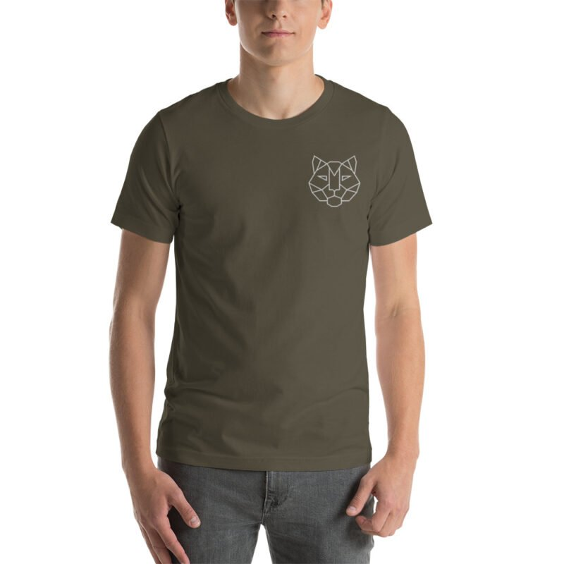 Tiger Embroidered Short-Sleeve Unisex T-Shirt 11