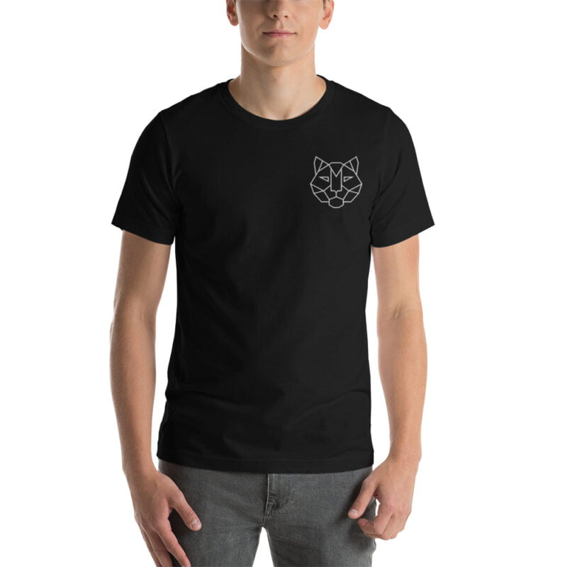 Tiger Embroidered Short-Sleeve Unisex T-Shirt 6