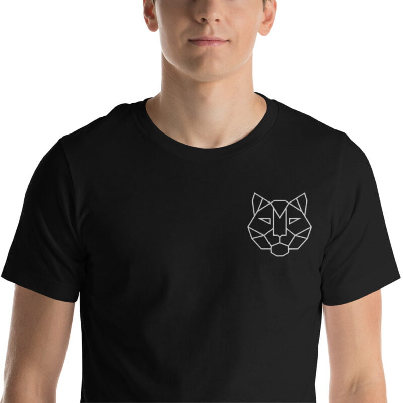 Tiger Embroidered Short-Sleeve Unisex T-Shirt 5