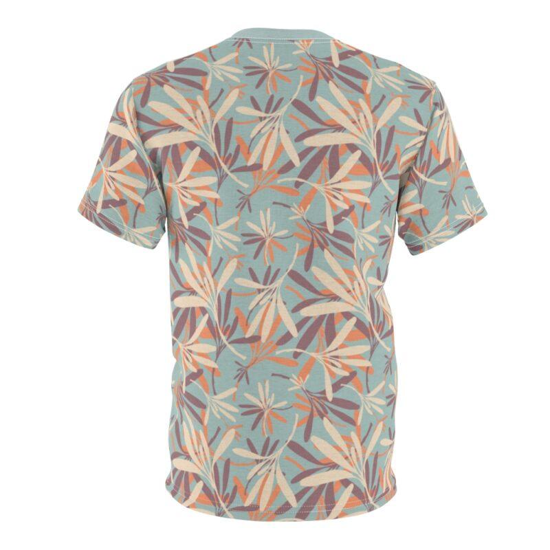 Aloha Floral Unisex Cut & Sew T-shirt 3