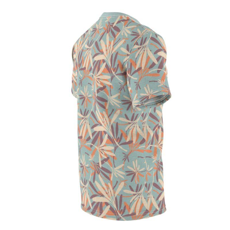 Aloha Floral Unisex Cut & Sew T-shirt 4