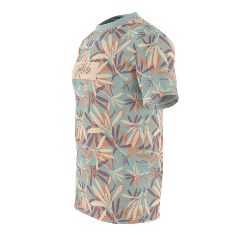 Aloha Floral Unisex Cut & Sew T-shirt 5