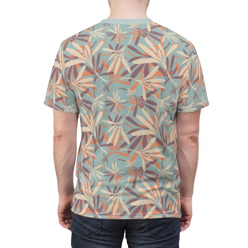 Aloha Floral Unisex Cut & Sew T-shirt 6