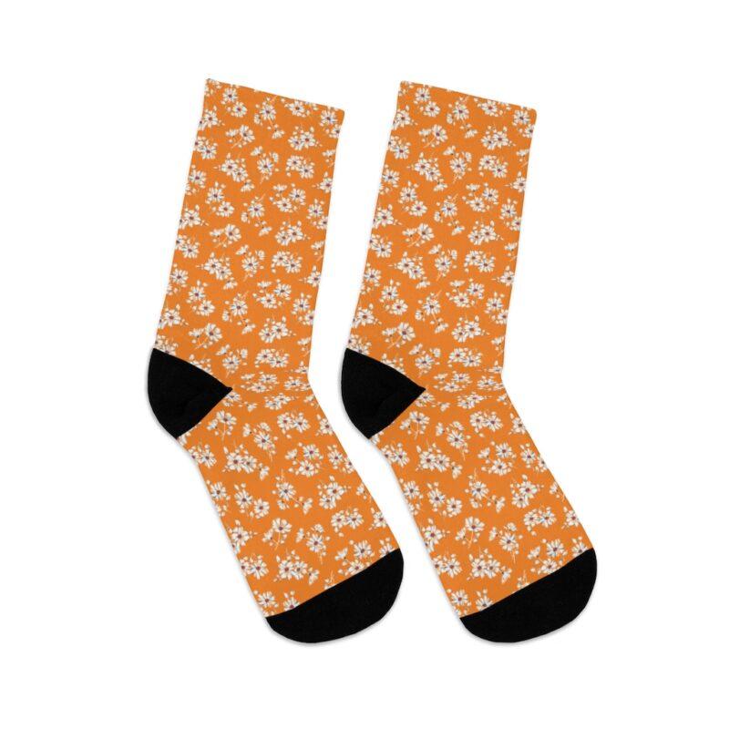 Mustard Ditsy Floral Socks 5