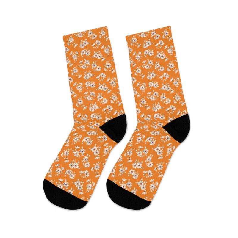 Mustard Ditsy Floral Socks 6