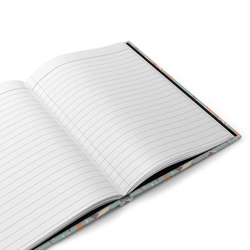 Grey Hardcover Journal Matte 4