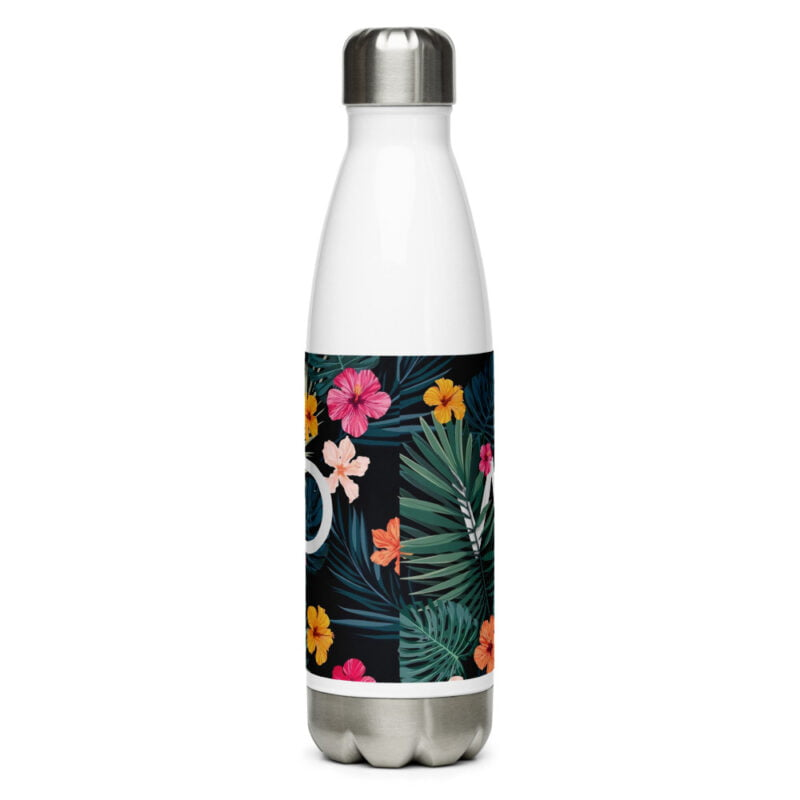 Wild and floral Stainless Steel Water Bottle 4