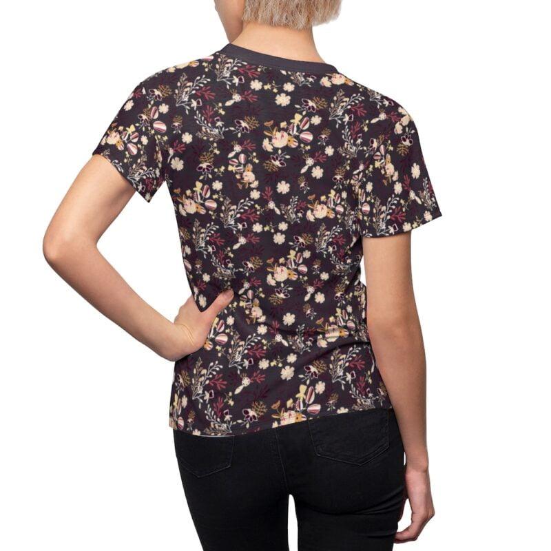 Bossa Nova Floral Women's All Over Print Tee 7