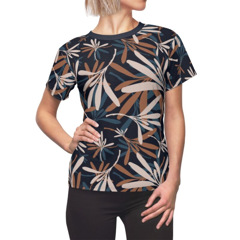 Tangaroa Floral Women's All Over Print Tee