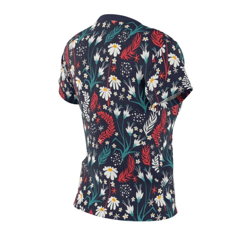 Valhalla Floral Women's All Over Print Tee 5