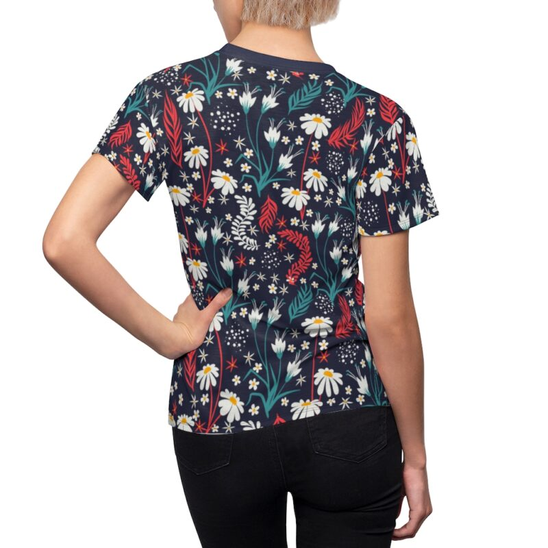 Valhalla Floral Women's All Over Print Tee 6