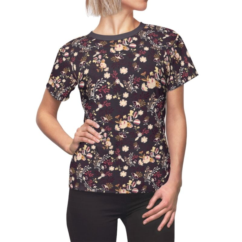 Bossa Nova Floral Women's All Over Print Tee 1