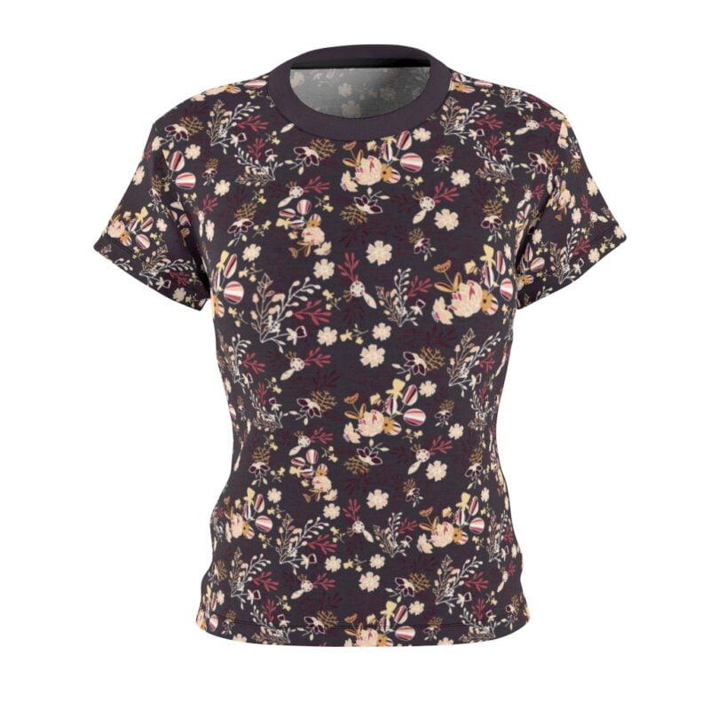 Bossa Nova Floral Women's All Over Print Tee 3