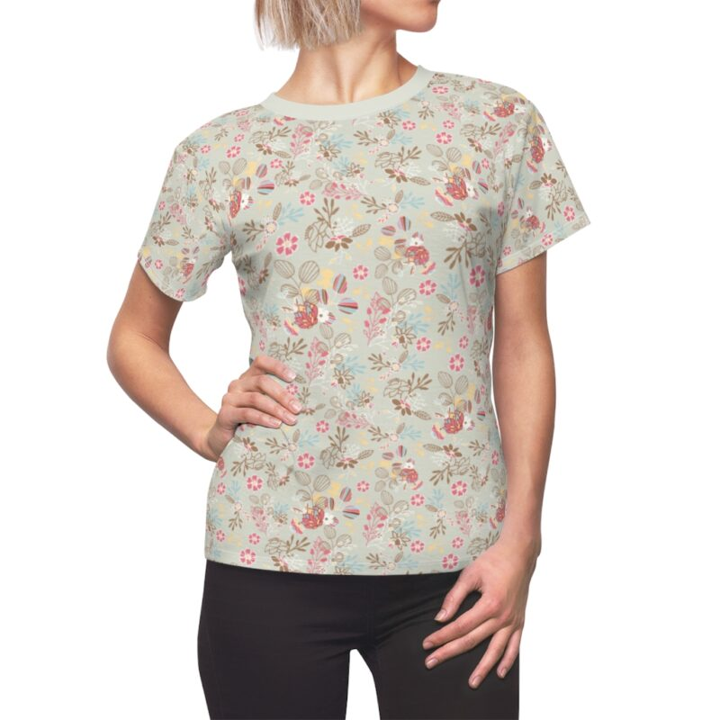 Feta Floral Women's All Over Print Tee