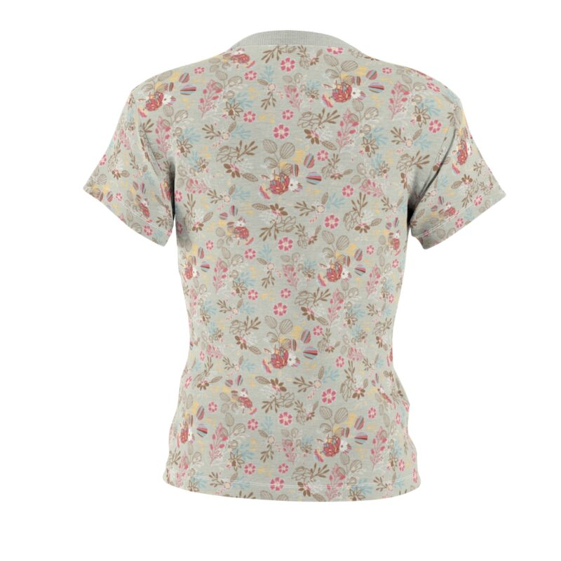 Feta Floral Women's All Over Print Tee 3