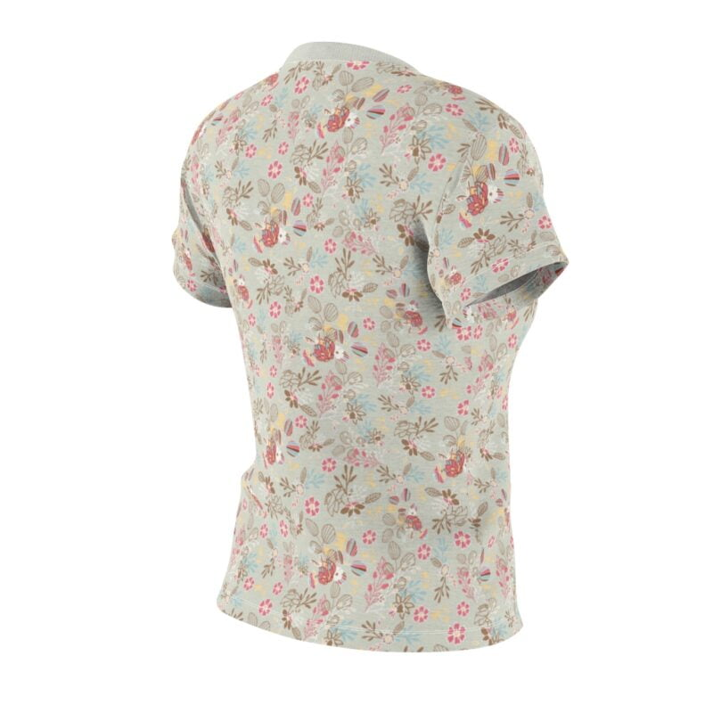 Feta Floral Women's All Over Print Tee 5