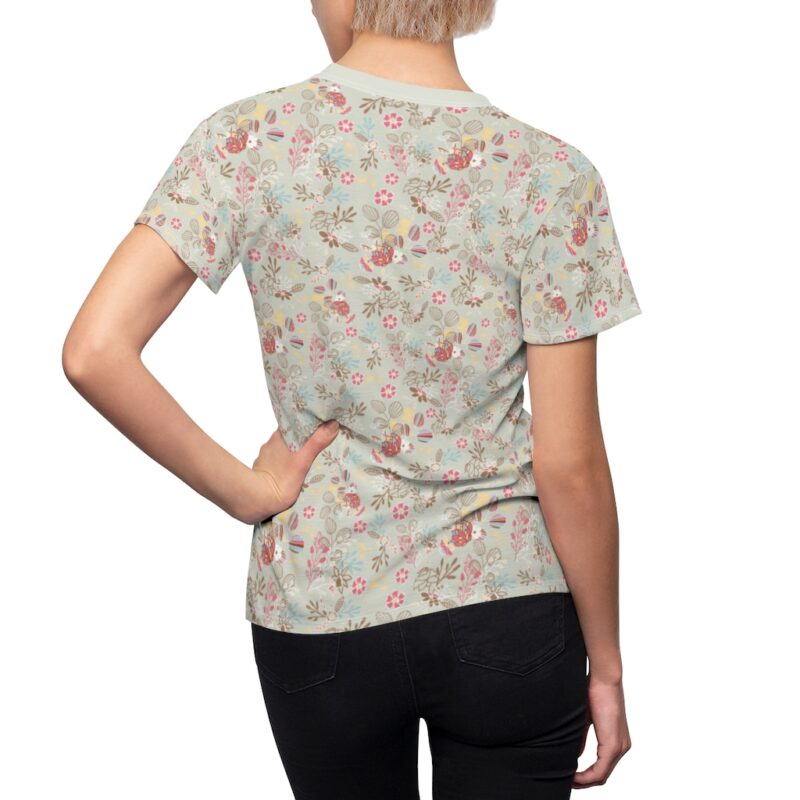 Feta Floral Women's All Over Print Tee 6