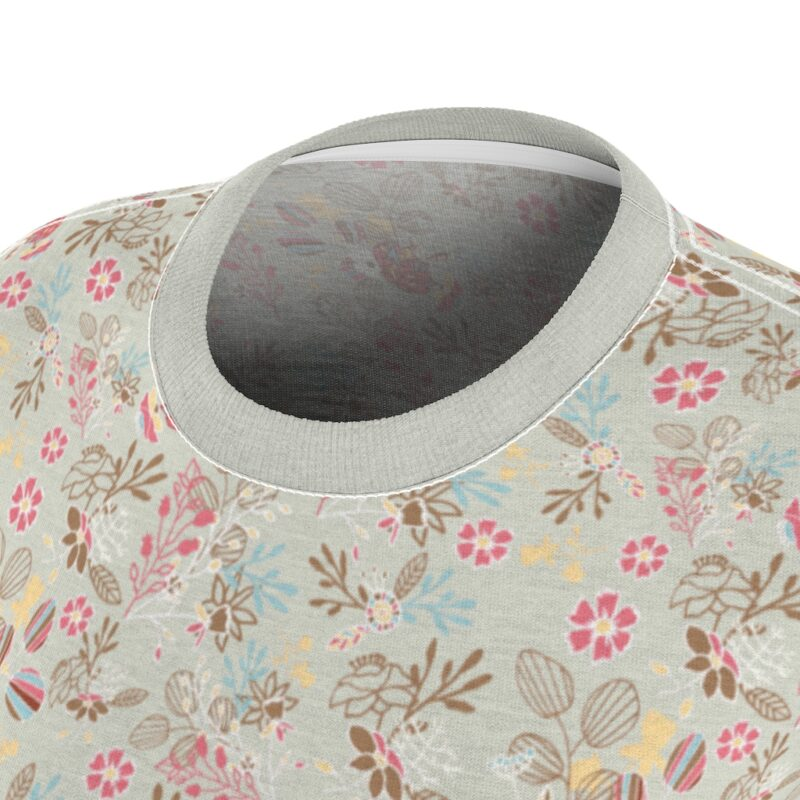 Feta Floral Women's All Over Print Tee 1