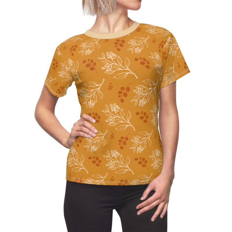 Buttercup Floral Women's All Over Print Tee