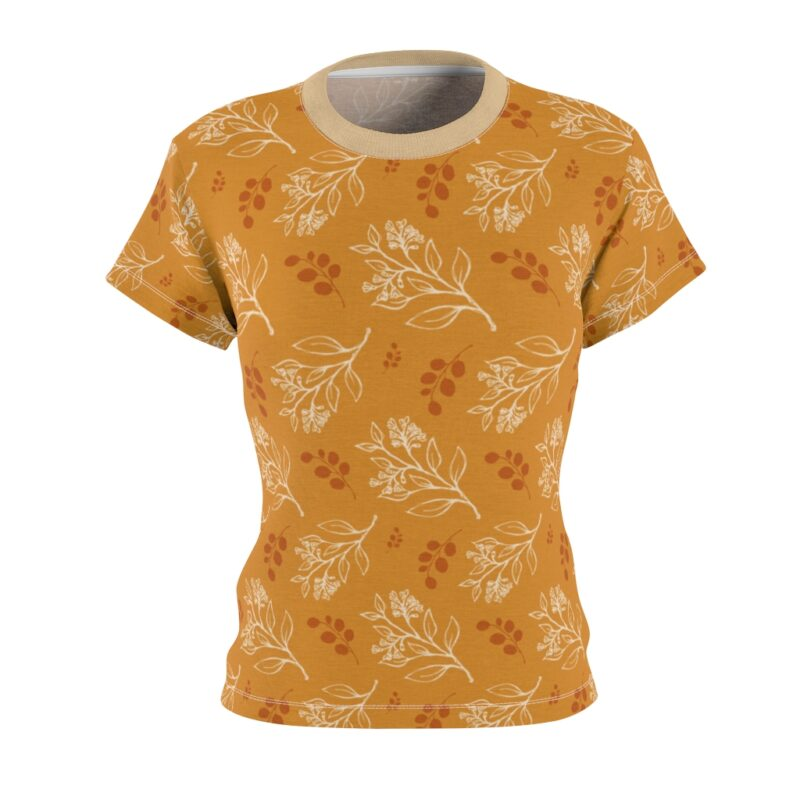 Buttercup Floral Women's All Over Print Tee 1