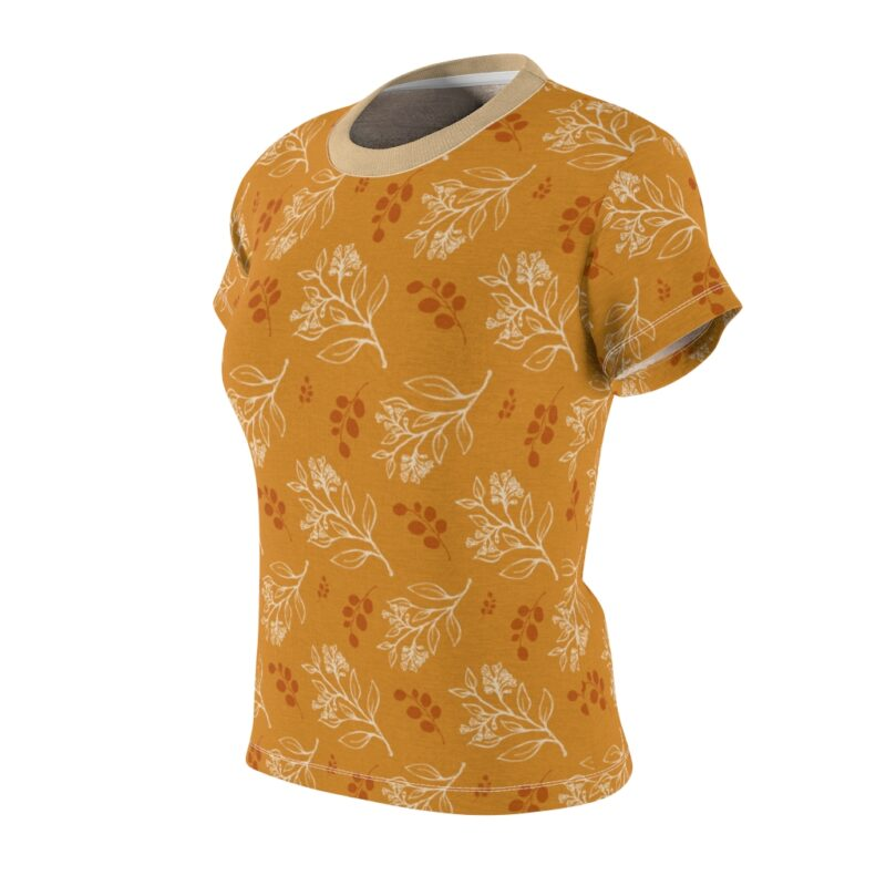 Buttercup Floral Women's All Over Print Tee 3