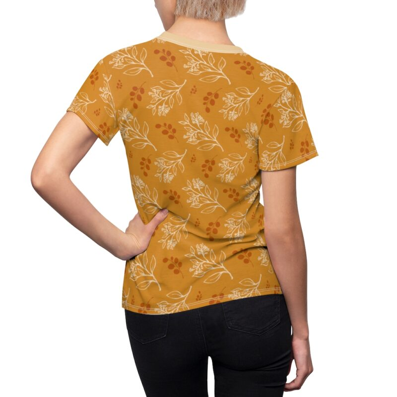 Buttercup Floral Women's All Over Print Tee 5