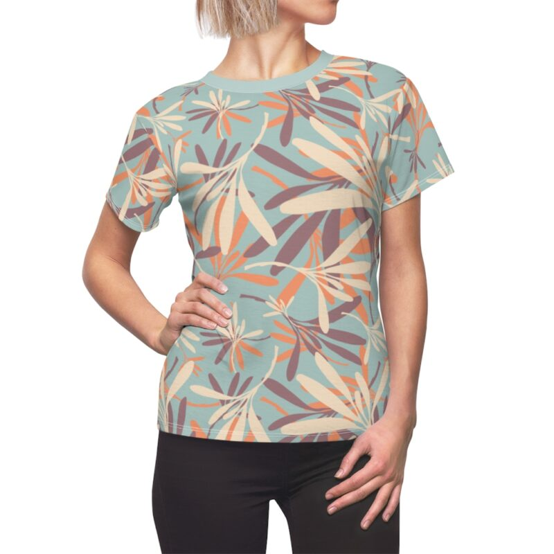 Opal Floral Women's All Over Print Tee 1