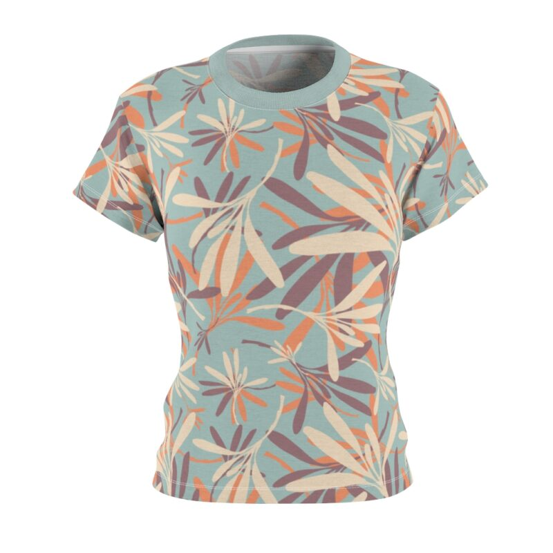 Opal Floral Women's All Over Print Tee 2