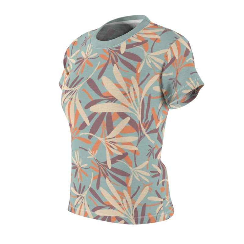 Opal Floral Women's All Over Print Tee 4