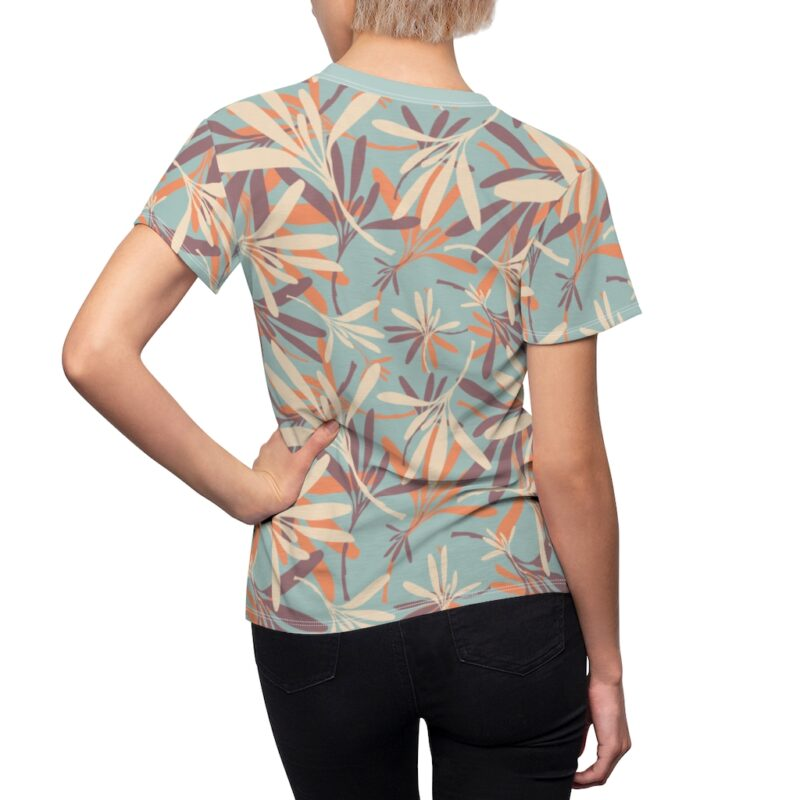 Opal Floral Women's All Over Print Tee 6