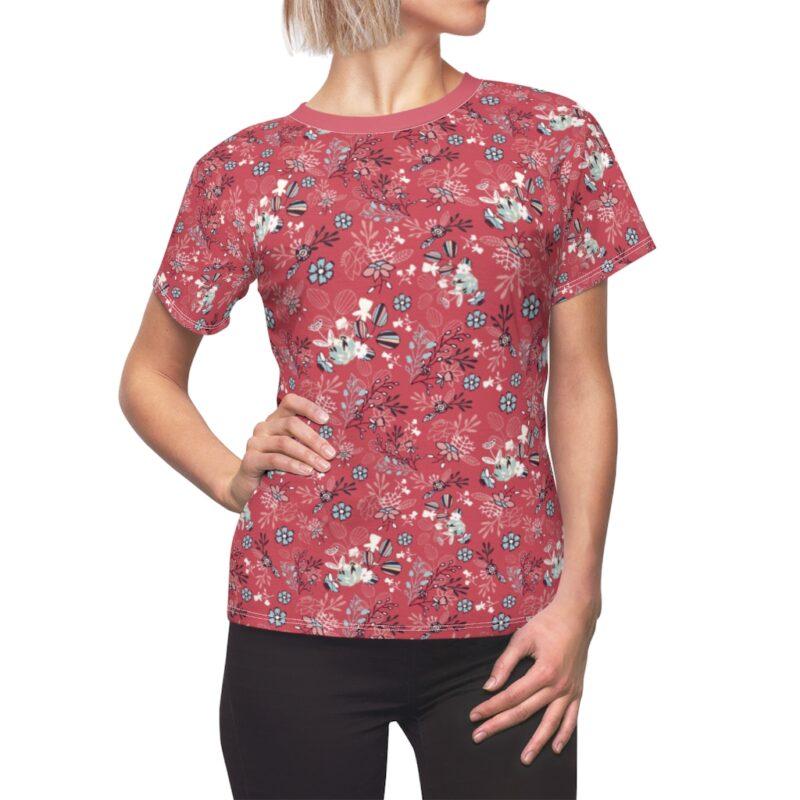 Mandy Floral Women's All Over Print shirt